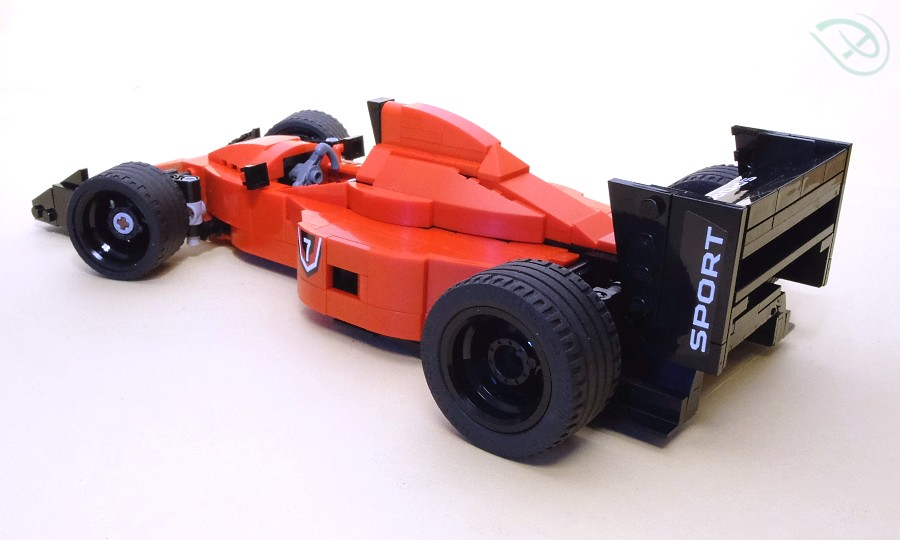 lego ferrari f1 1990 a fantasy version of a 1990 style. Black Bedroom Furniture Sets. Home Design Ideas