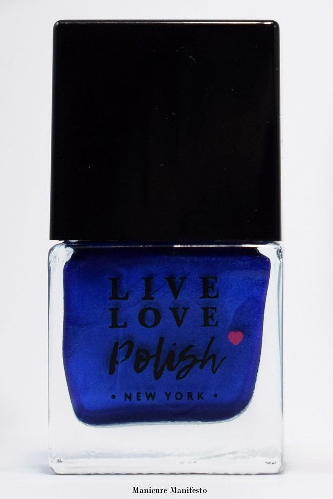 Live Love Polish Blue Suede Review