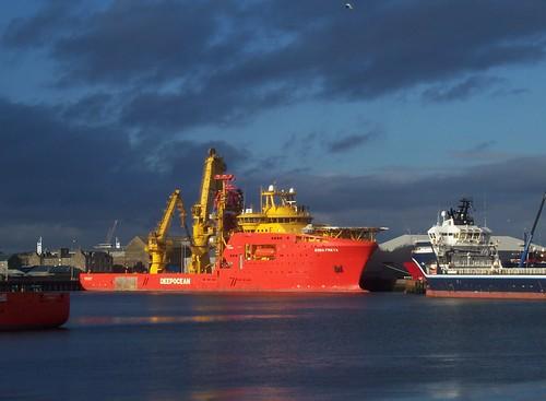 """Edda Freya"", Aberdeen Harbour, Aberdeen, Feb 2018 | Flickr"