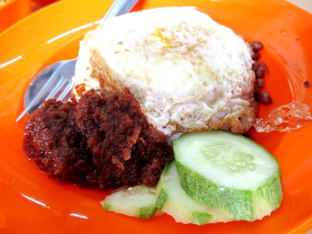 Happy Points Cafe, nasi lemak