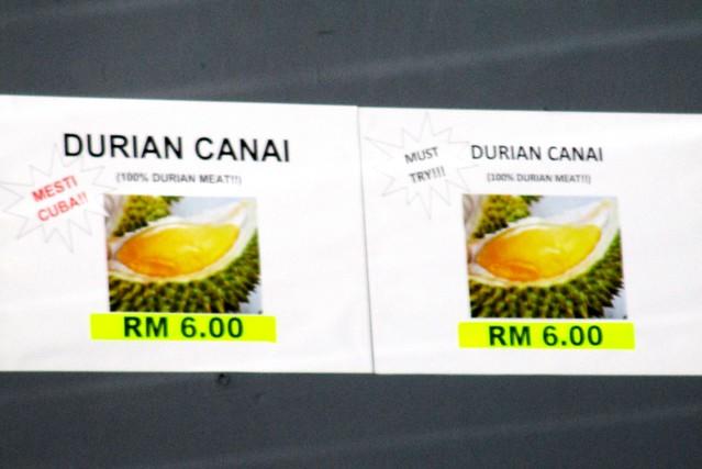 Durian canai