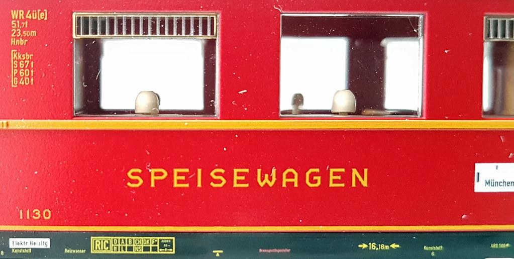 Anschriften FLEISCHMANN WR4üe-35 DSG Ep. IIIa 1130