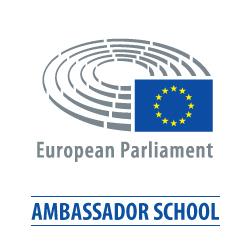 EU Parliament Ambassador School logo