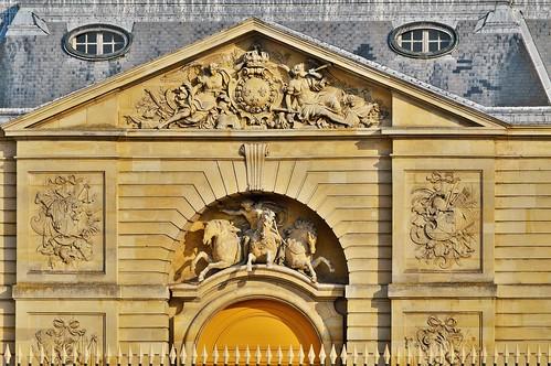 Versailles les curies royales plac sous la direction for Architecte de versailles sous louis xiv