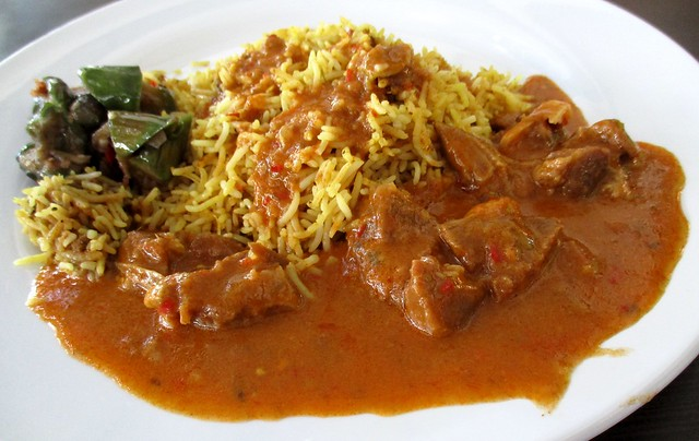 Biryani King mutton curry biryani