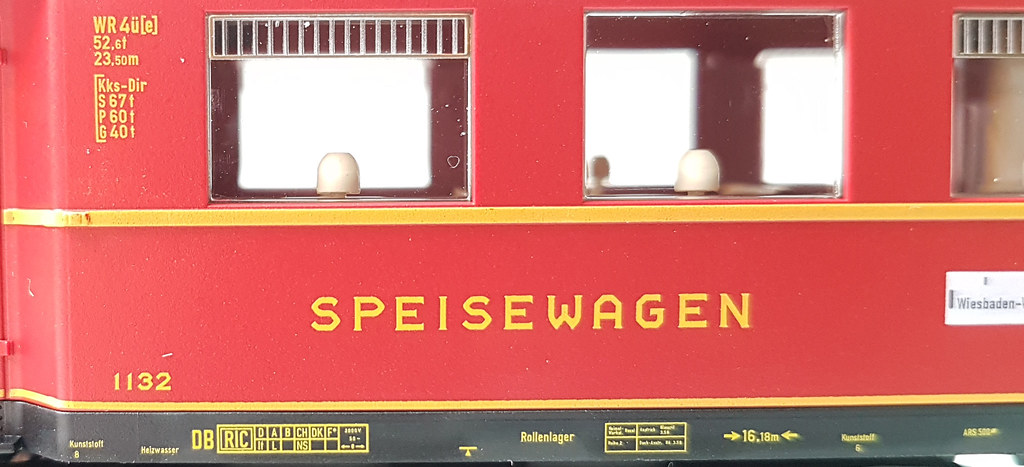 Anschriften FLEISCHMANN WR4üe-35 DSG Ep. IIIb 1132