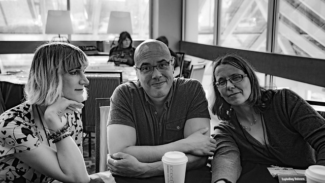 Charlie Jane Anders, David Anthony Durham, Kate Elliott