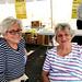 Matushka and Evy at Yard Sale