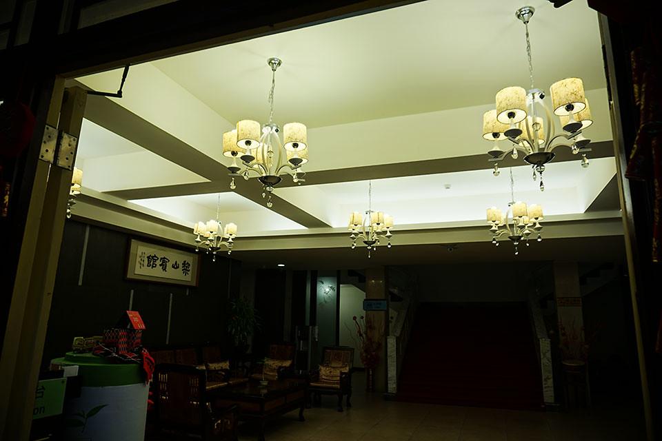 梨山賓館 櫃台