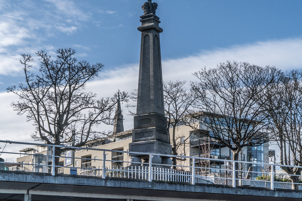 THE GEORGE IV MEMORIAL IN DUN LAOGHAIRE 007