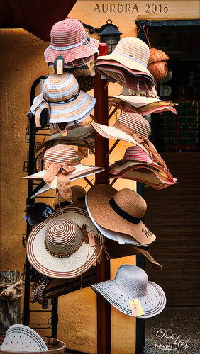 Image of a Hat Rack in St. Augustine using Aurora 2018 HDR software