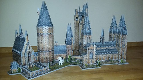 Wrebbit 3D 875 Harry Potter Hogwarts Astronomy Tower (38) | by Pumatti