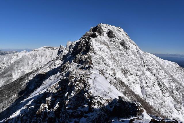 冬の八ヶ岳登山 横岳~硫黄岳