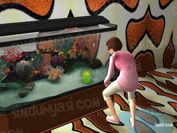 The Sims 2 Pets Aquarium