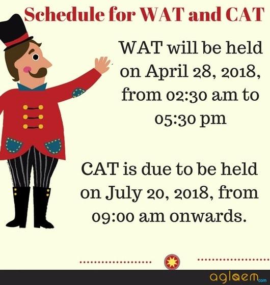 AIFD Bangalore Admission Admit Card 2018   Download Here AIFD WAT Admit Card 2018
