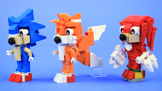 Team Sonic in LEGO | by BRICK 101