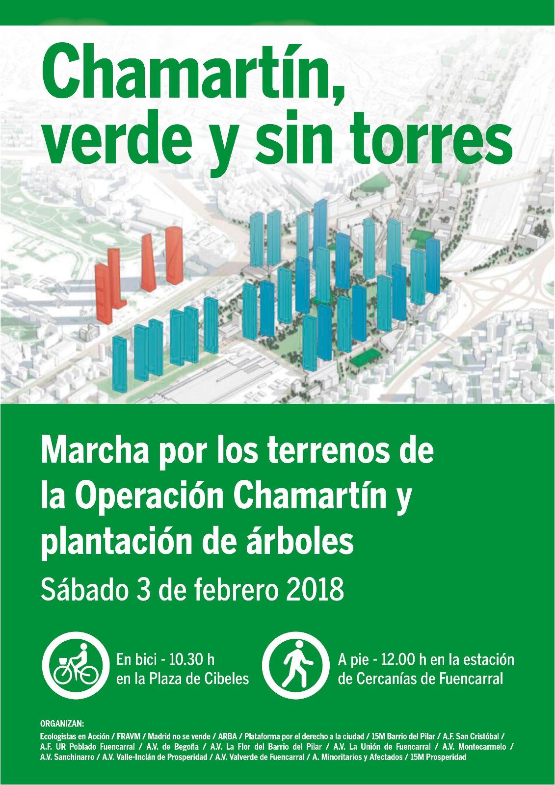 Madrid: Marcha por los terrenos de la Operación Chamartín y ...