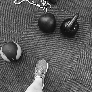 lunchtime lifting #dailymonochrome | by eclecticlibrarian
