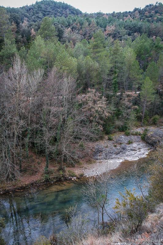 Río Llobregat y Vía Verde del Carrilet