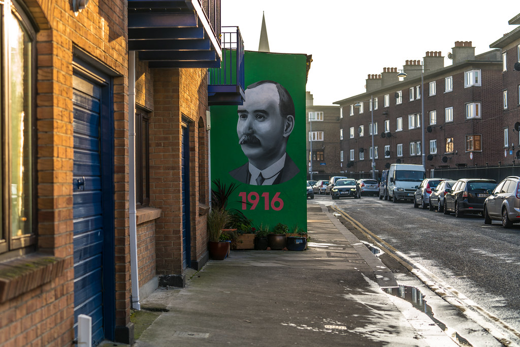 REMEMBERING 1916 IN THORNCASTLE STREET