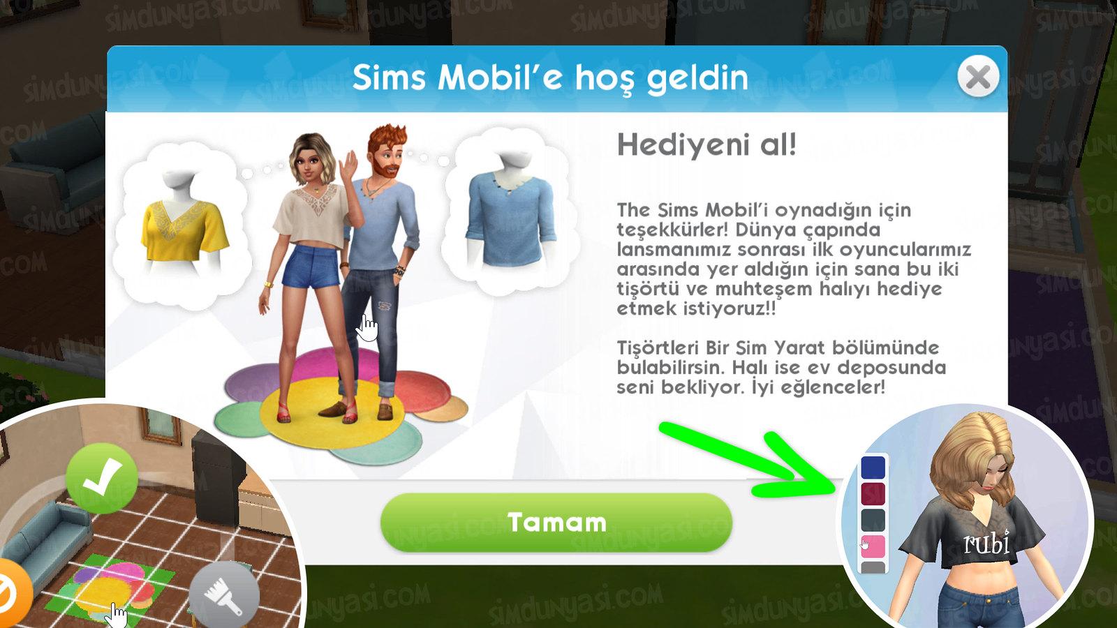 The Sims Mobile Şimdi Yayında Artık İndirilebilir Dünya Çapındaki İlk Oyunculara Özel