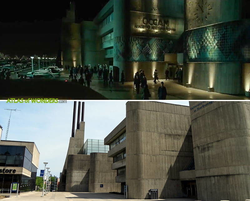 The Shape of Water film location