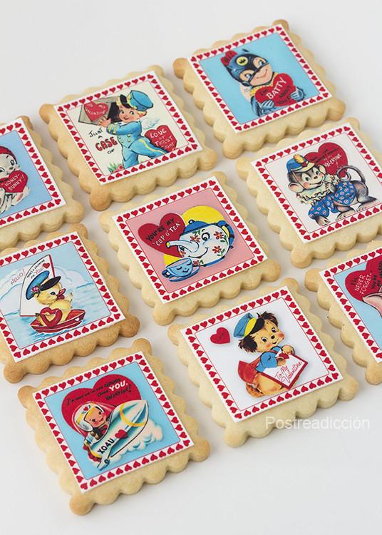 papel azúcar galletas