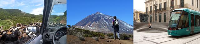 Guides order landing page, Tenerife