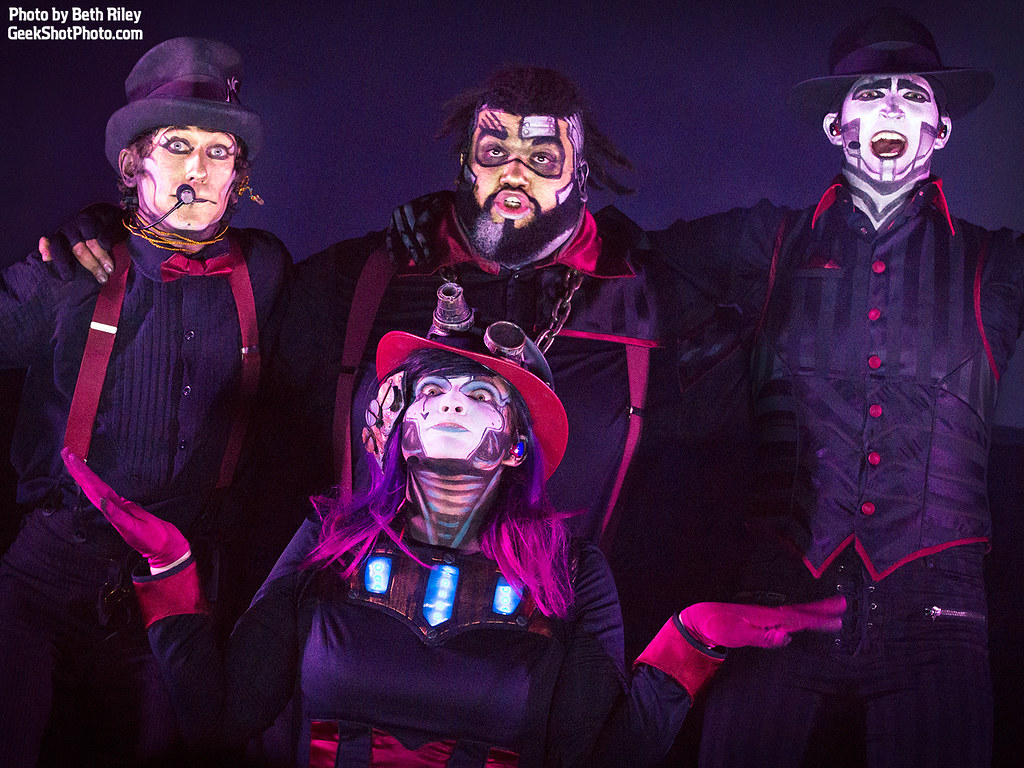 Steam Powered Giraffe All Rights Reserved Do Not Repos Flickr