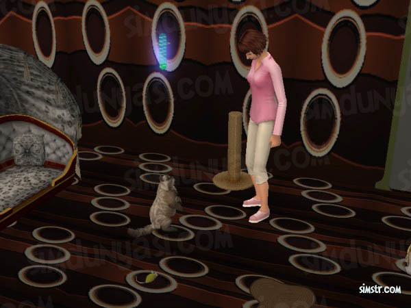 The Sims 2 Pets Teach Command Stand