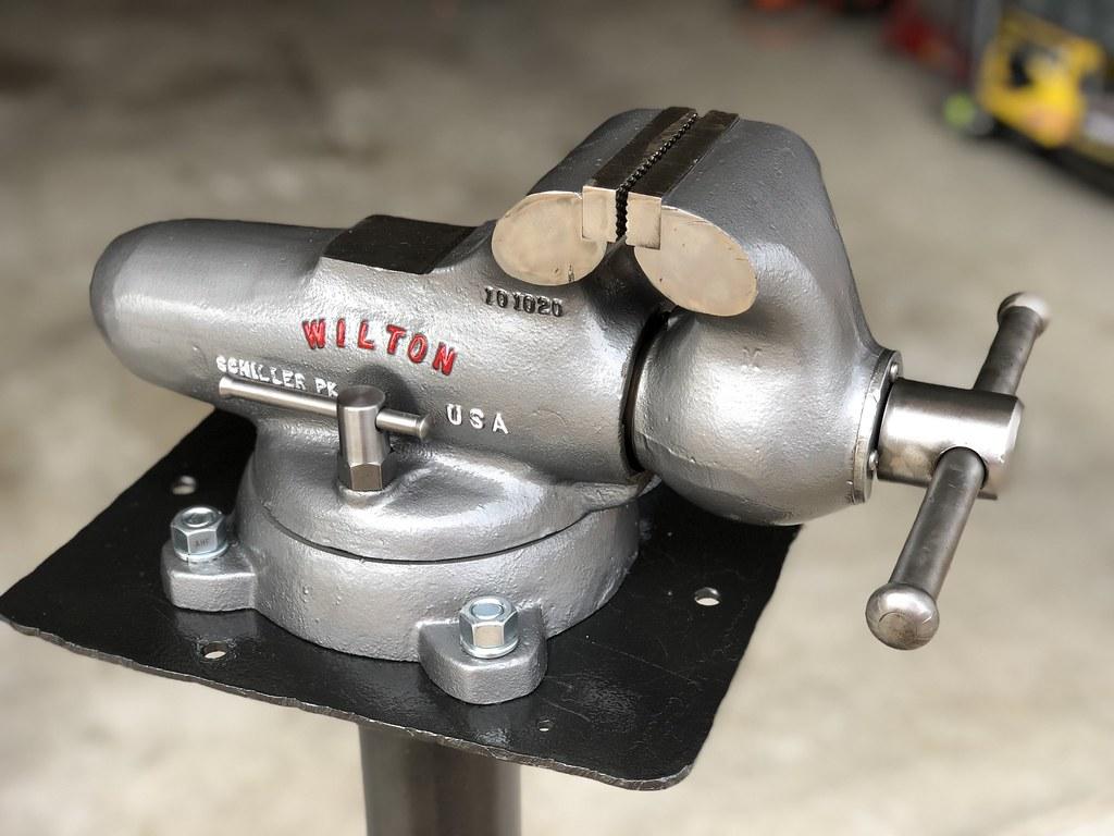 wilton 3 1 2 bullet vise model 835 101020 refinished flickr