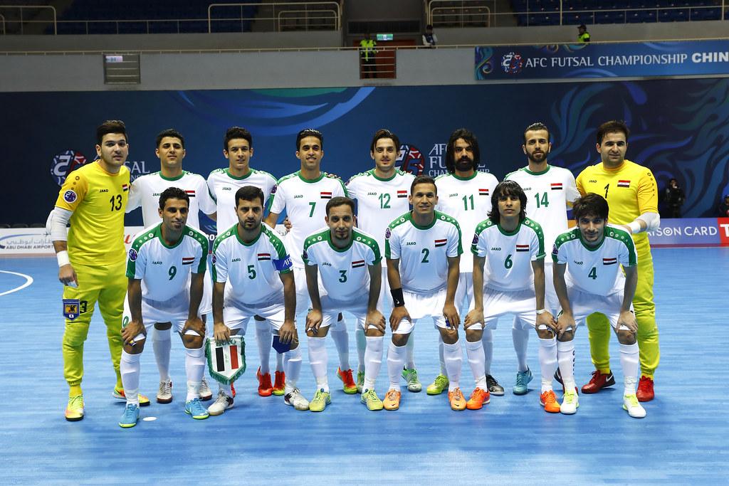 伊拉克五人制足球代表隊。(AFC提供)