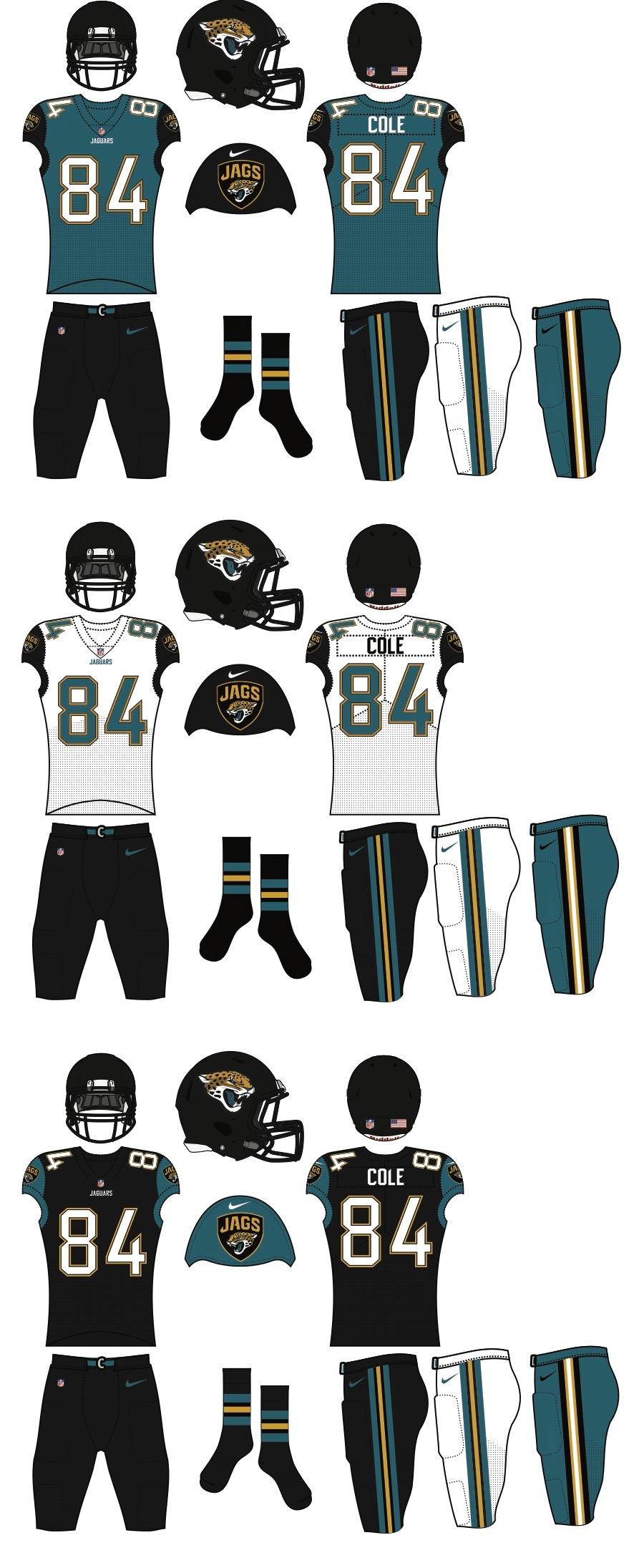 jaguars uniforms 2018