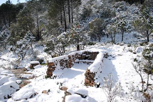 U Cumpulu sous la neige