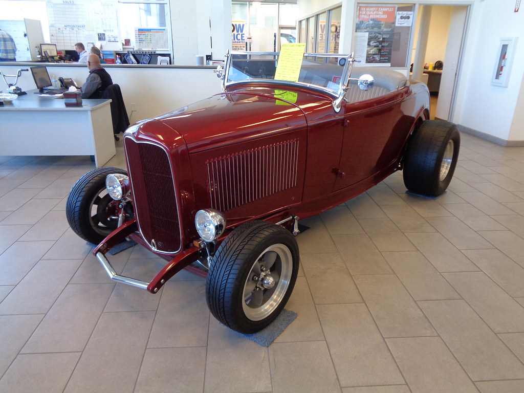 32 Ford Roadster | A sweet little rod for sale at my local … | Flickr