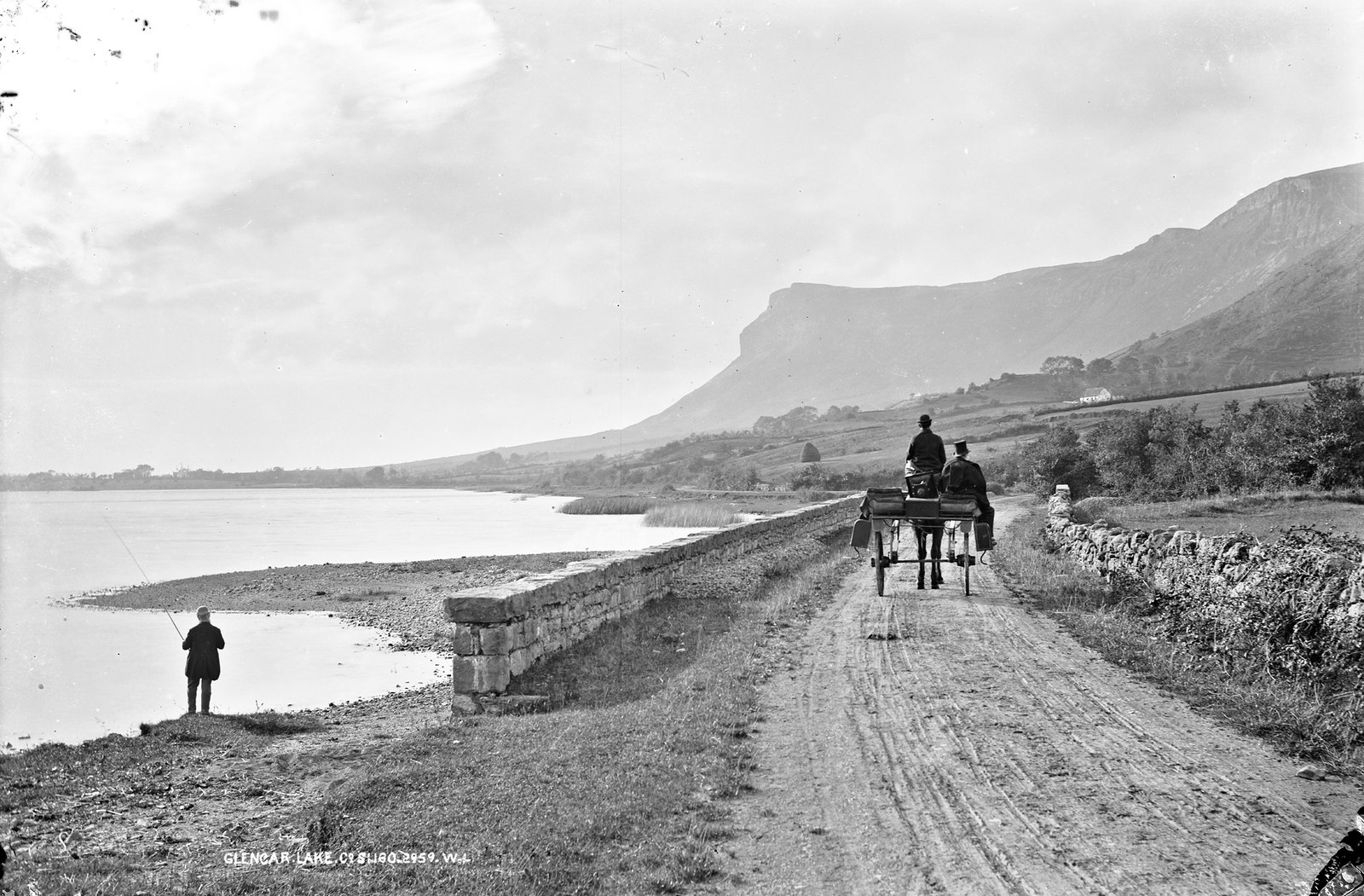 Rugged mountain and calm day at Glencar! | by National Library of Ireland on The Commons