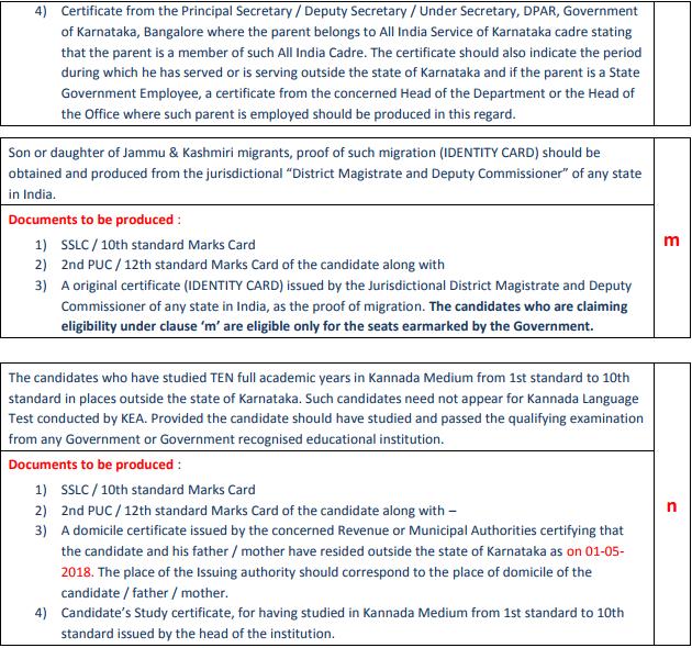 Kcet 2018 Eligibility Criteria Aglasem Admission