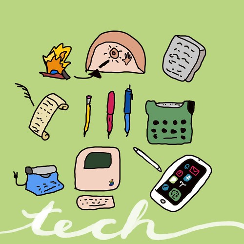 Tech #JanDoodle | by teach.eagle