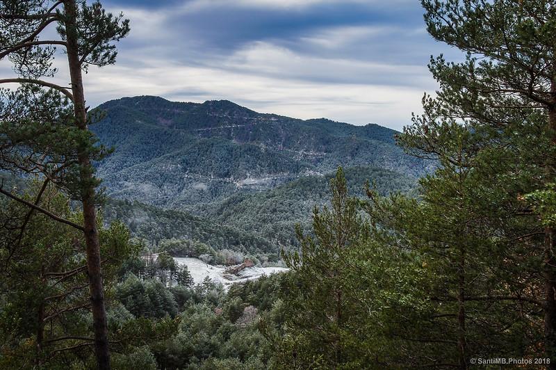 Vila-rasa desde lo alto del camino