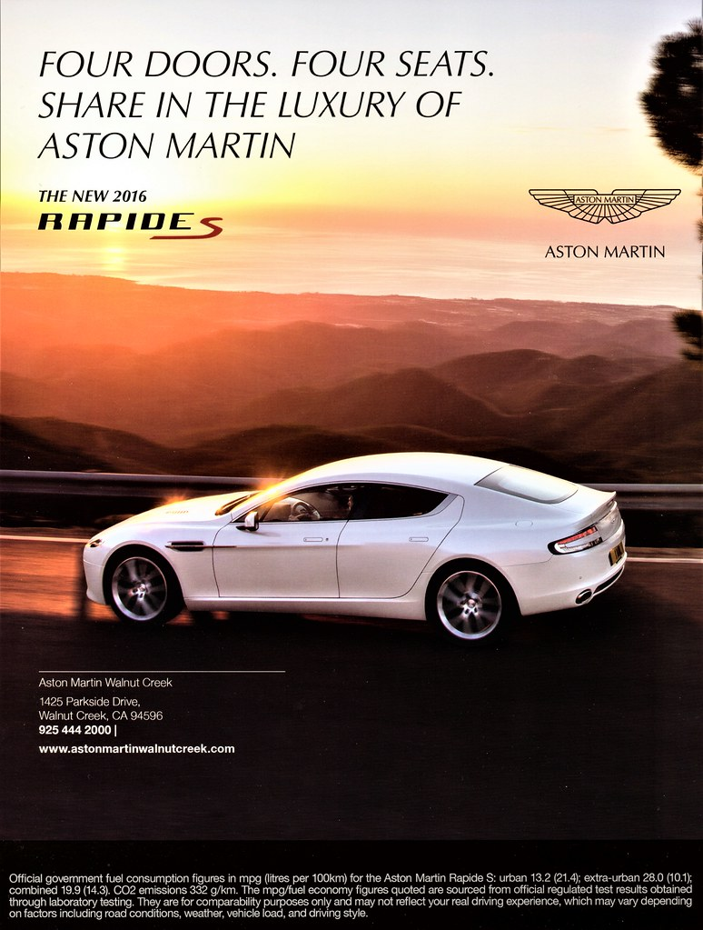 Aston Martin Rapide S Alden Jewell Flickr - Aston martin walnut creek
