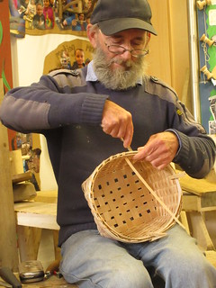 Ash splint basket making UK