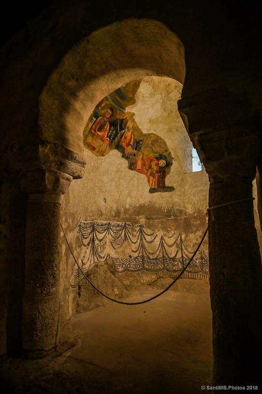 Capilla norte de Sant Quirze de Pedret