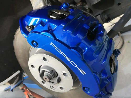 Anodized Blue Calipers