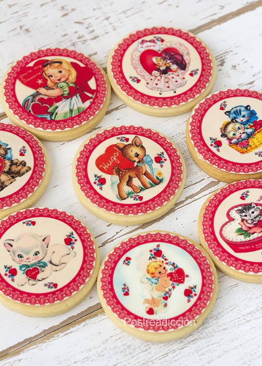 galletas papel azucar