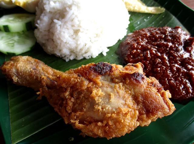 Warong fried chicken drumstick