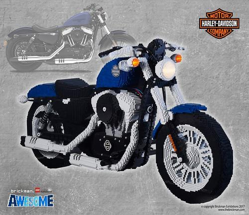 lego brick harley davidson 2018 48 motorcycle i always. Black Bedroom Furniture Sets. Home Design Ideas