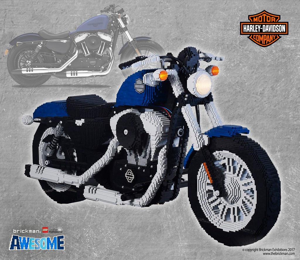 Lego 174 Brick Harley Davidson 2018 48 Motorcycle I Always