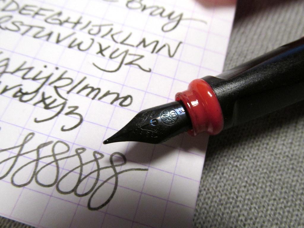 """A Fountain Pen In """"Bad Taste"""""""