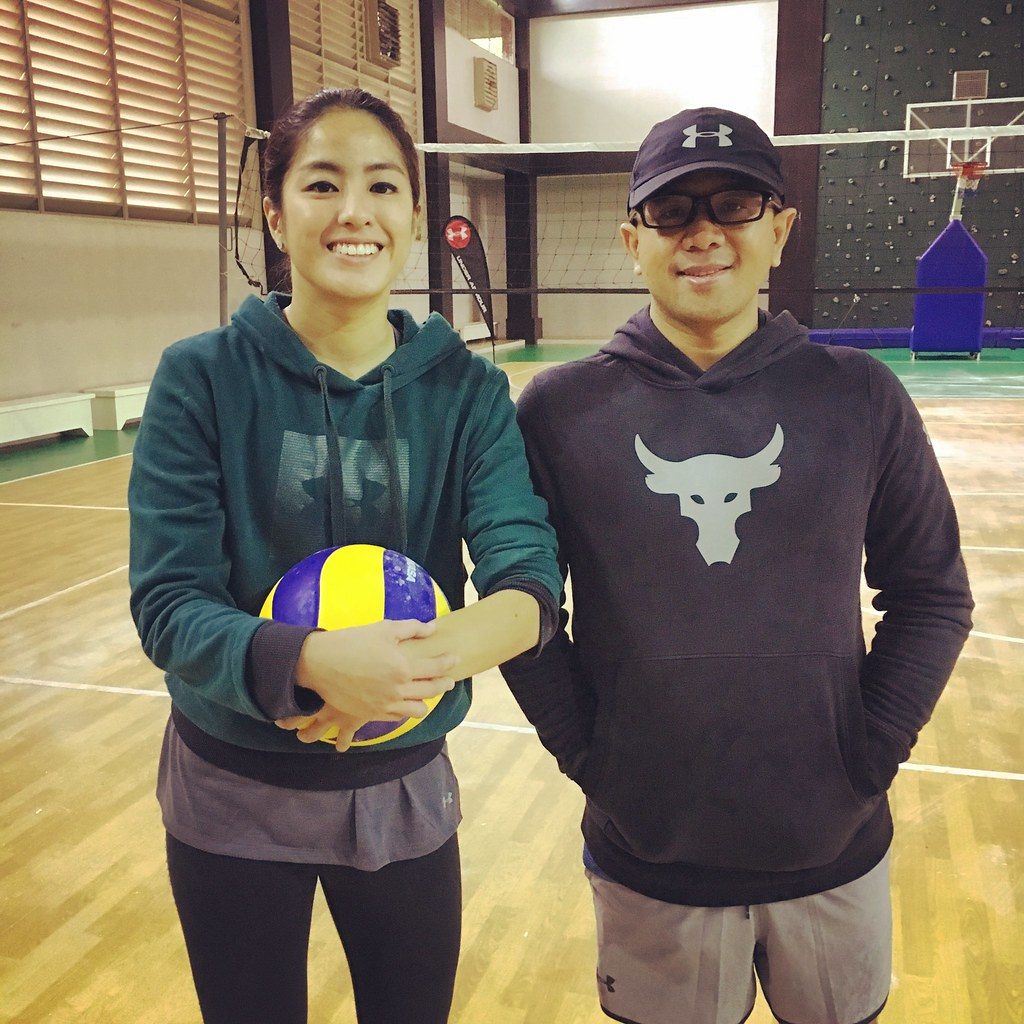 With Gretchen Ho