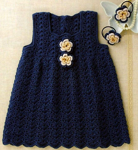 I Loved This Crochet Dress That Simple Pattern And At The Flickr
